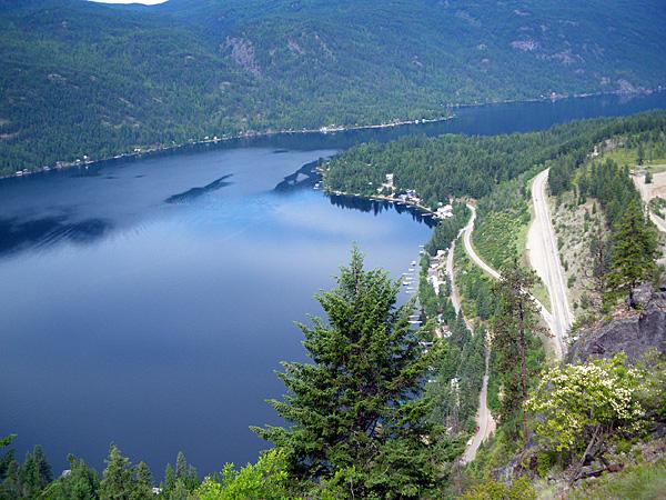 Cascade Gorge Kettle River Trans Canada Trail