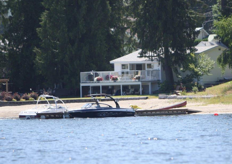 Waterfront Rental Christina Lake